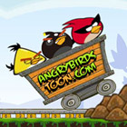 game Angry Birds Dangerous Railroad
