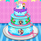 game Anna Birthday Cake Contest