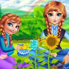 game Anna Mommy Gardening
