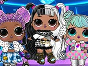 game Baby Dolls Winter Disco