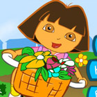 game Baby Dora Flower Rush