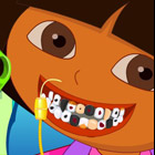 game Baby Dora Tooth Decoration