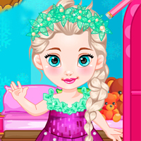 game Baby Elsa Goes To School