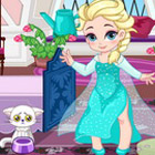 game Baby Elsa Skiing Trip