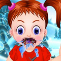 game Baby Emma Winter Throat Problem