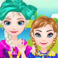 game Baby Frozen Sisters Picnic