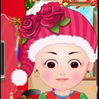 game Baby Hazel Christmas Dress Up