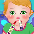 game Baby Juliet Got Flu
