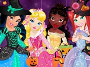 game Baby Princess Halloween