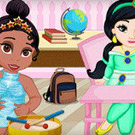 game Baby Princess School
