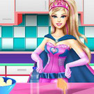 game Barbie Chocolate Cake