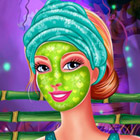 game Barbie Fabulous Facial Makeover