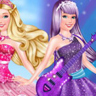 game Barbie Princess Vs Popstar