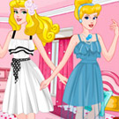 game Cinderella And Aurora BFF Outfits