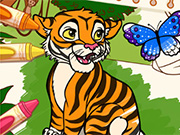 game Color Me Jungle Animals