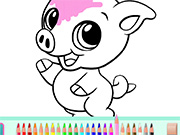game Cute Animals Coloring Book