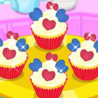 game Cute Heart Cupcakes