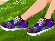 game DIY Galaxy Shoes