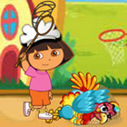 game Dora ThanksGiving Turkey Catching