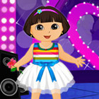 game Dora Valentine Party Dress Up