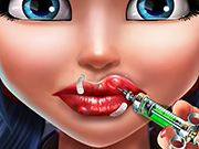 game Dotted Girl Lips Injections