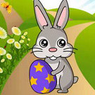 game Easter Bunny Collect Carrots