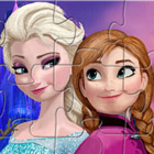 game Elsa And Anna Puzzle