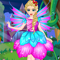 game Elsa Fairy Dress Up