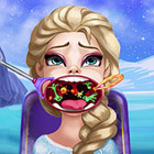 game Elsa Throat Doctor