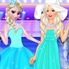 game Elsa VS Barbie Fashion Show