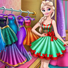 game Elsa Wardrobe Cleaning