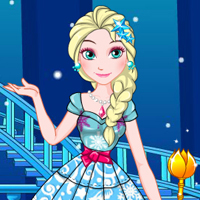game Elsa's Patchwork Dress