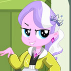 game Equestria Girls Diamond Tiara Dress Up