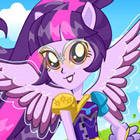 game Equestria Girls Friendship Games Twilight Sparkle Archery Style