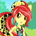 game Equestria Girls Wild Rainbow Apple Bloom Dress Up