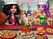 game Fashion Girls Cooking Contest