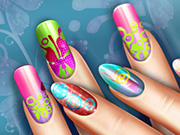 game Floral Realife Manicure