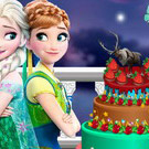 game Frozen And Monster High Cake Decor