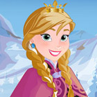 game Frozen Anna Frosty Makeover