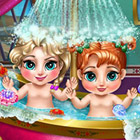 game Frozen Baby Bath