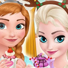 game Frozen Sisters Cozy Time