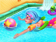 game Galaxy Girl Swimming Pool