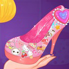 game Hello Kitty Shoes Designer