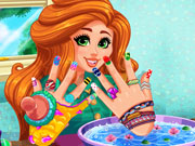 game Jessie's DIY Nails Spa