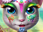 game Kitty Beach Makeup