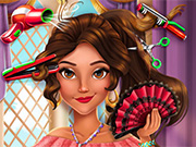 game Latina Princess Real Haircuts