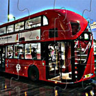 game London Bus Puzzle
