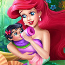 game Mermaid Baby Feeding