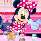 game Minnie Mouse Chocolate Cake
