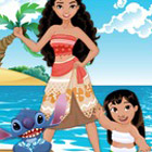 game Moana Lilo and Stitch